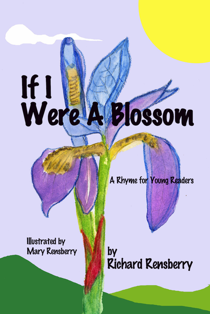 Cover to If I were A Blossom custom book for small businesses.